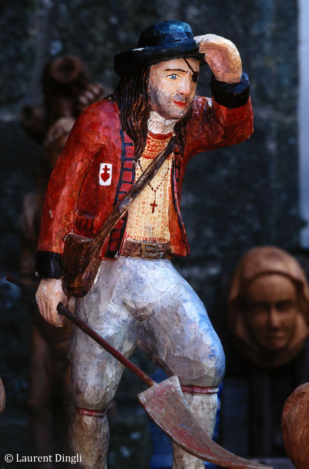 Figurine de bois - Locronan