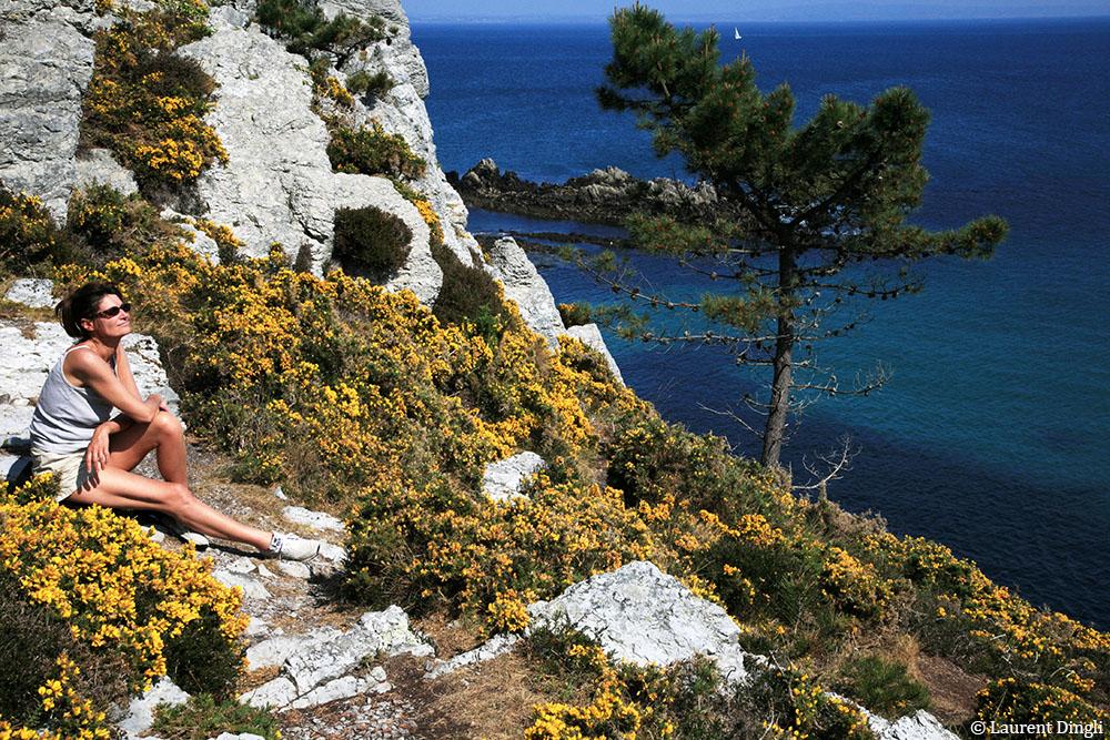 L'île Vierge - Morgat et le Cap de la Chèvre © Laurent Dingli - Tous droits réservés