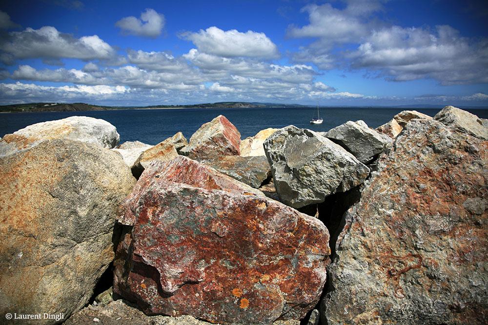 Roches - Port de Morgat © Laurent Dingli - Tous droits réservés