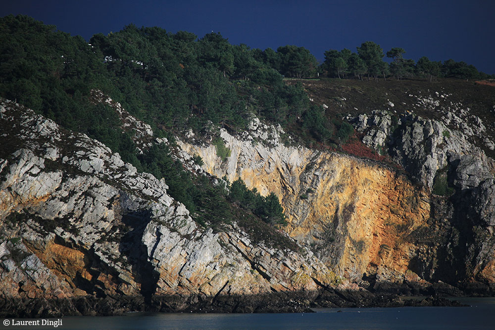 Falaise de Morgat par temps orageux © Laurent Dingli - Tous droits réservés