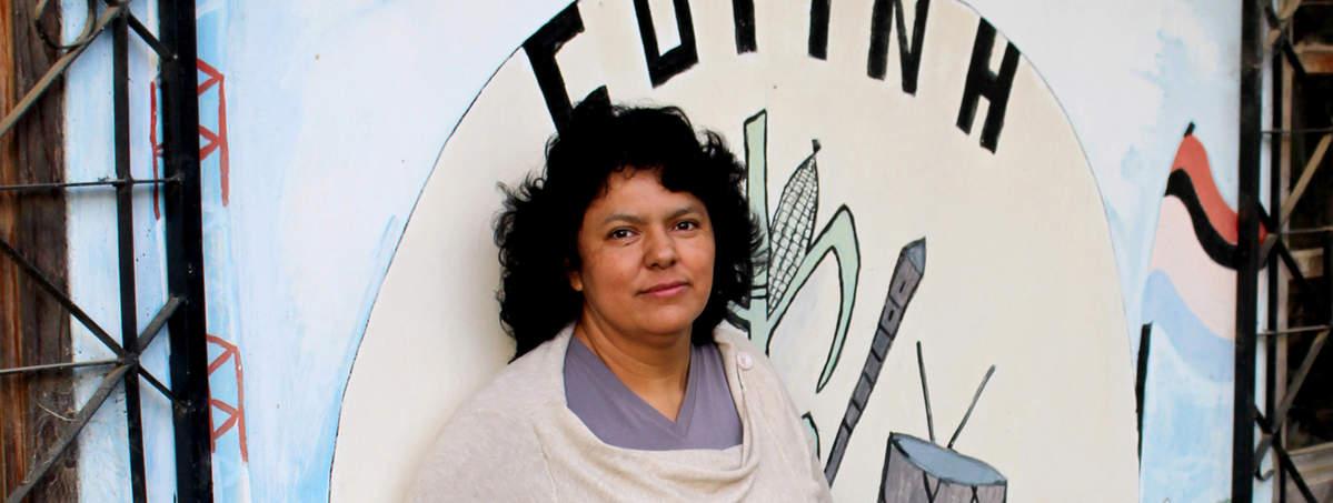 Berta Cáceres @ Goldman Prize