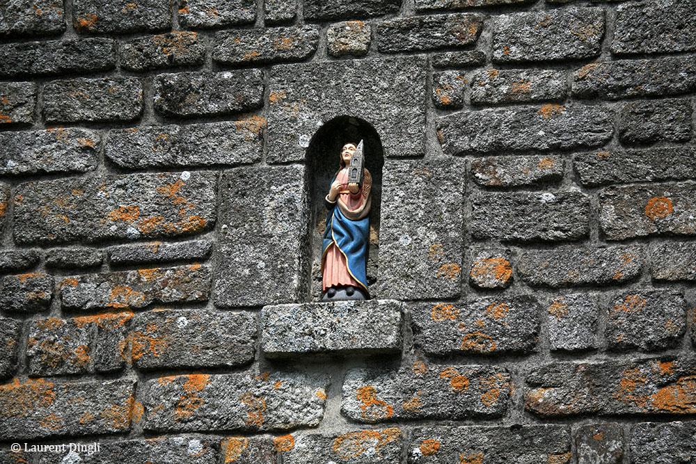 Détail de façade - Village de Locronan © Laurent Dingli - Tous droits réservés