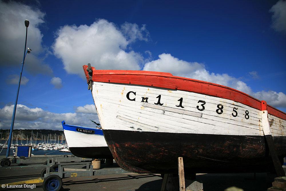 Cale sèche - Port de Morgat © Laurent Dingli - Tous droits réservés