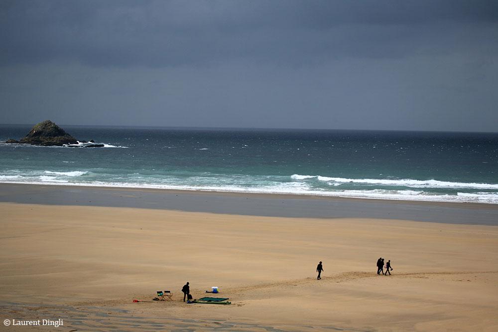 """Tournage du film """"La ligne droite"""" de Régis Wargnier sur la plage de La Palue © Laurent Dingli - Tous droits réservés"""