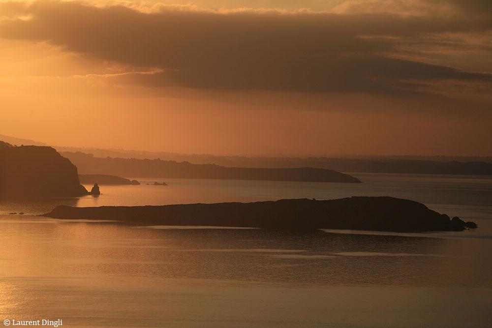 Plage de l'Aber à l'aube - Presqu'île de Crozon © Laurent Dingli - Tous droits réservés
